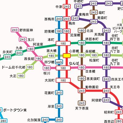 大阪 地下鉄 路線 図 大阪市営地下鉄路線図 - PiliApp