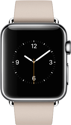 Todellinen koko kuva  Apple Watch (38mm) .