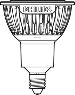 Actual size image of  Bulb E11 .