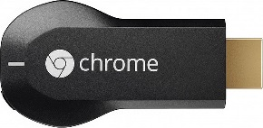 Actual size image of  Chromecast .