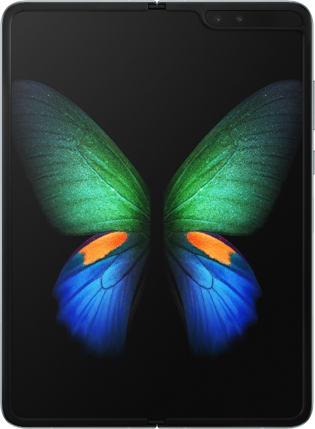 Samsung Galaxy Fold (tablet mode)  gerçek boy.