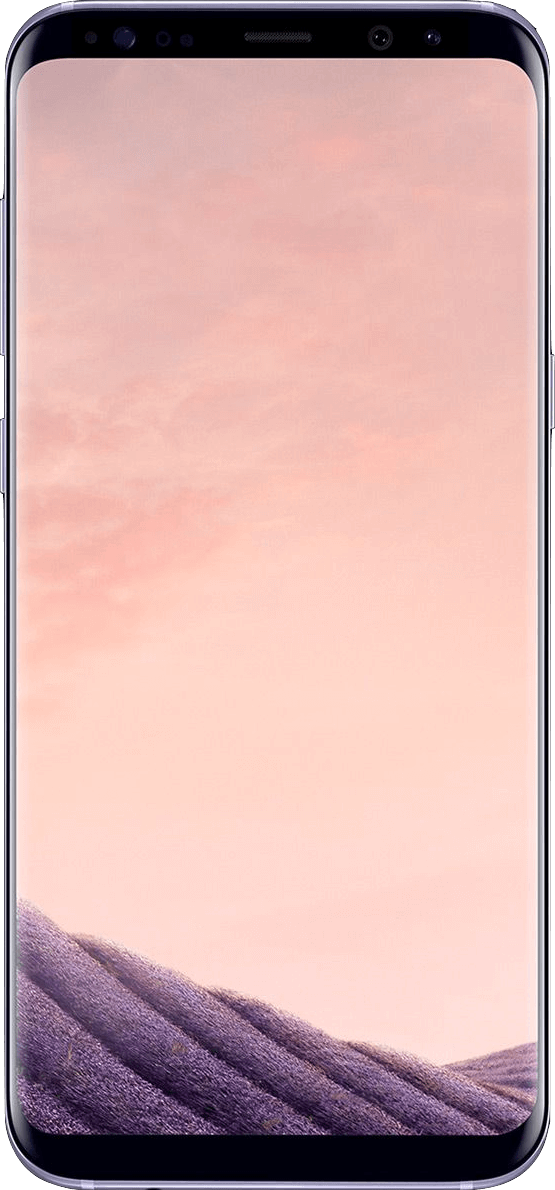 Actual size image of  Samsung Galaxy S8 Plus / S8+ .