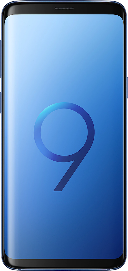 Actual size image of  Samsung Galaxy S9 .