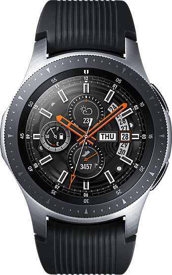 Todellinen koko kuva  Samsung Galaxy Watch (46mm) .