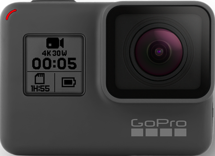 Actual size image of  Gopro Hero5 .