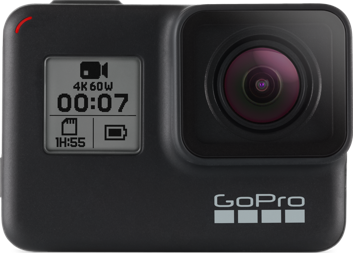 Actual size image of  Gopro HERO7 Black .