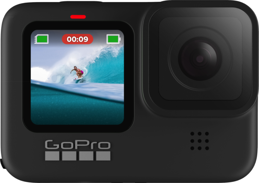 Gopro HERO 9 Black  gerçek boy.