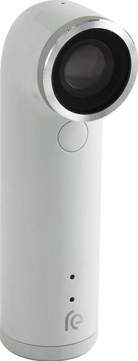 Actual size image of  HTC RE Camera .