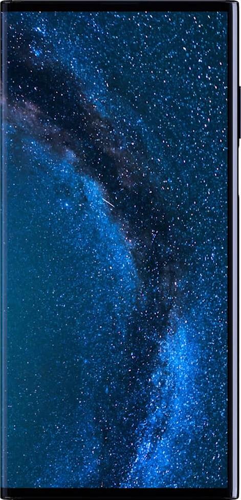 Actual size image of  Huawei Mate X (phone mode) .