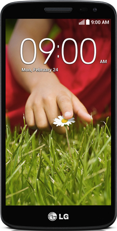 Actual size image of  LG G2 mini(D618) .