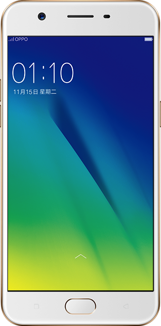 Actual size image of  OPPO A57 .